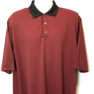 Haggar Polo Golf Shirt Cool Performance Mens XL